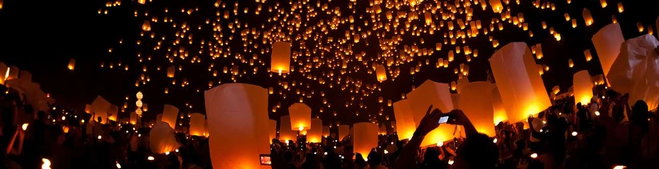 A great time to be here in Loi Krathong Festival in Chiang Mai