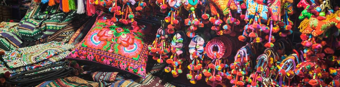 Visit the charming Chiang Mai Night Bazaar