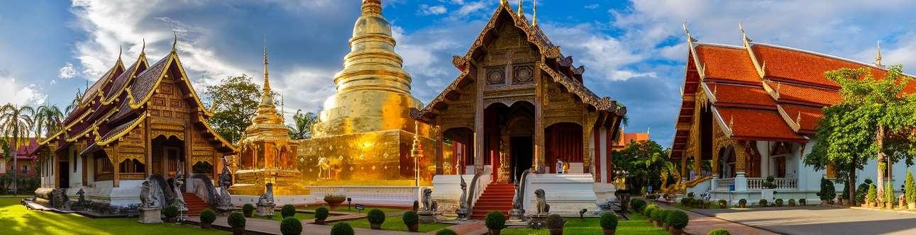 The majestic Wat Phra Singh in Chiang Mai