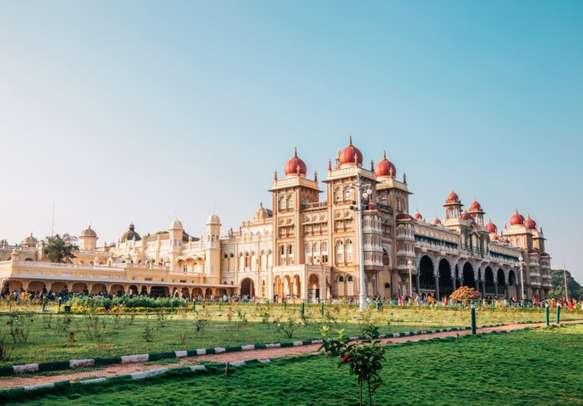 Mysore Palace historical architecture in Mysore