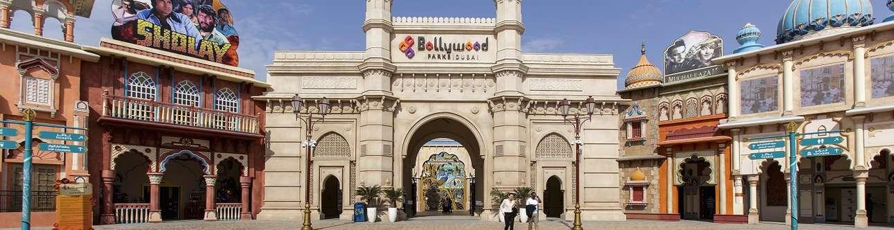 Visit the amazing and unique theme park in Dubai