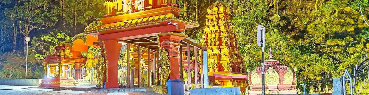 Visit the historical Seetha Amman Temple in Nuwara Eliya
