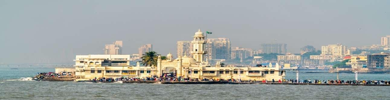 Haji Ali Dargah is one of the iconic sites in Mumbai