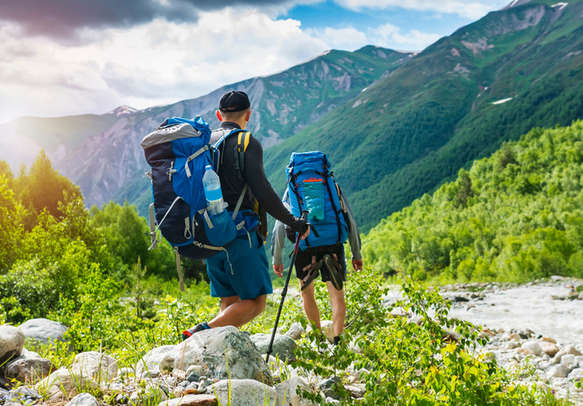 Go for an exciting trekking experience in the foothills of the Himalayas