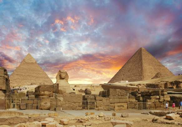 Explore the great Pyramids at the Egypt