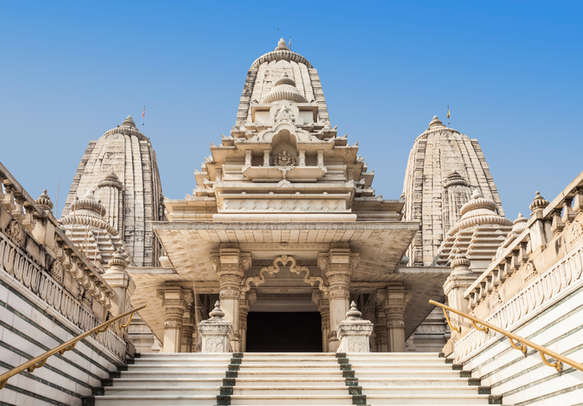 Seek blessings at Birla Temple making yours wishes come true