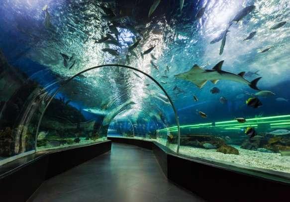 Underwater tunnel on Manila, Philippines