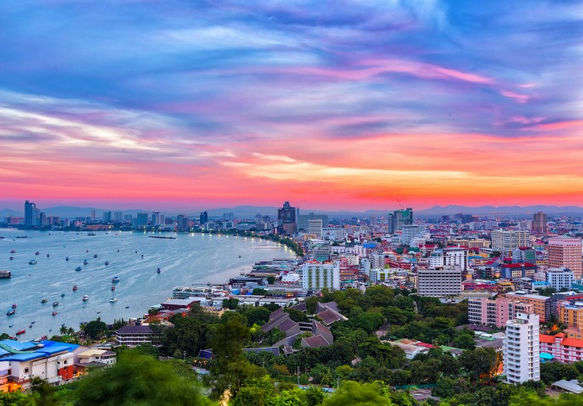 Enjoy Thailand skyline