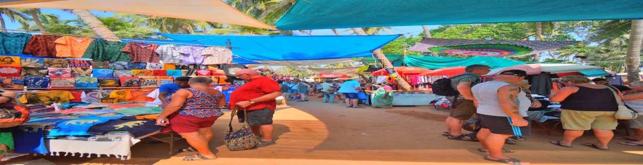 Visit the Anjuna Flea Market in Goa