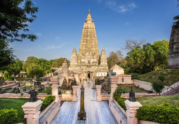 temple in bodhgaya