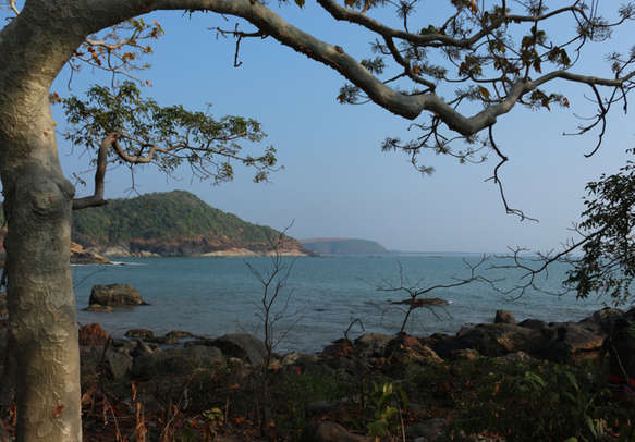 Paradise beach beautiful view gokarna