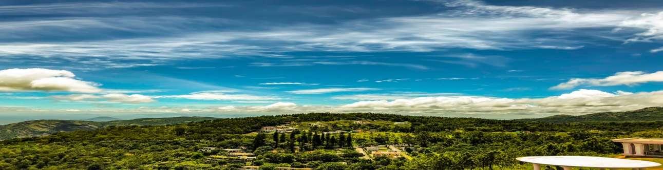 Beautiful scenic view of the Yercaud city