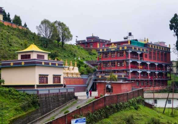 Visit the Lava Monastery in West Bengal