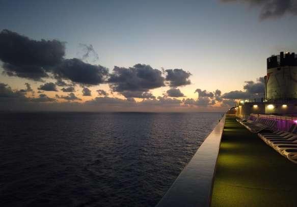 jalesh cruise in high seas