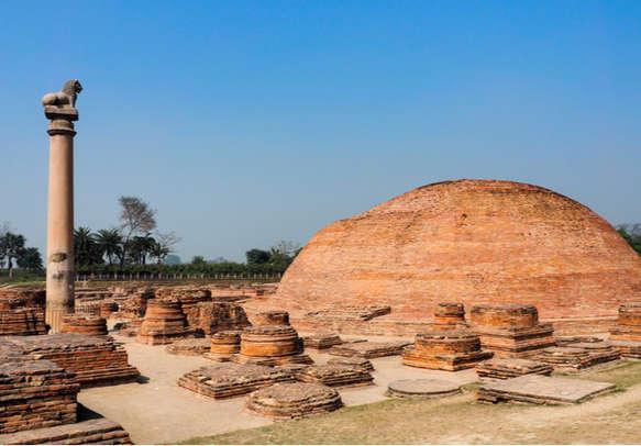 The Pillar of Ashoka at Vaishali