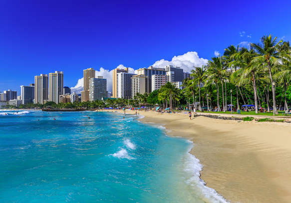 Waikai beach, Honolulu