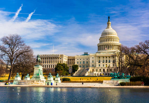 Reflecting Pool in Washington, DC