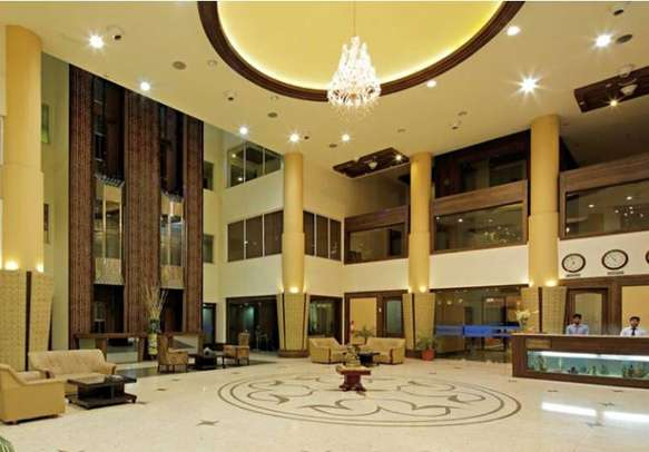 Beautifully designed reception area with all the required amenities