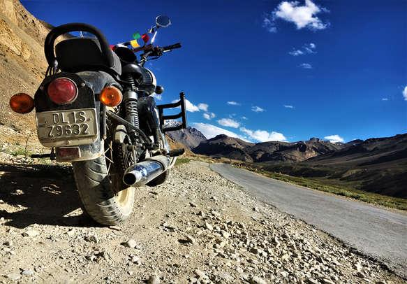 Adventurous bike trip in leh ladakh