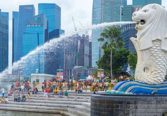 Witness the symbolic beauty of Singapore