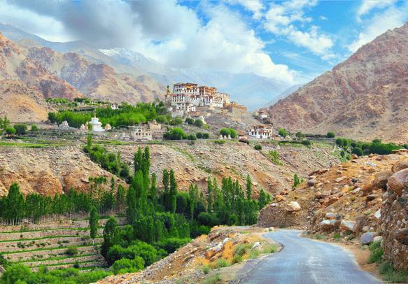 The monasteries of Ladakh