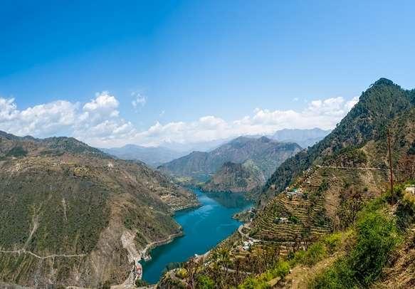 Tehri Lake of Chamba in Himachal