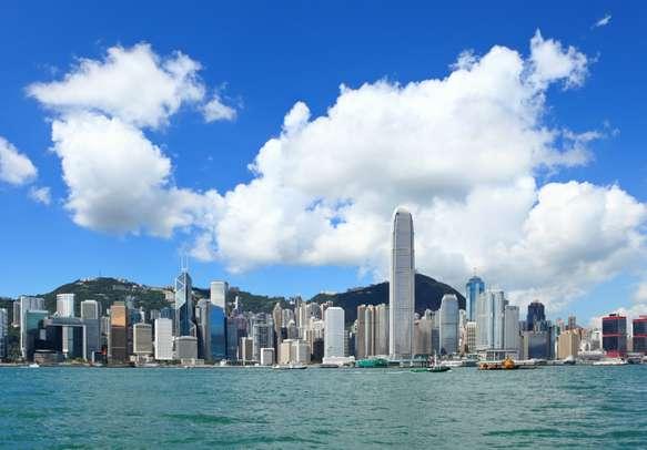 Enjoy mesmerising views of the cosmopolitan Hong Kong