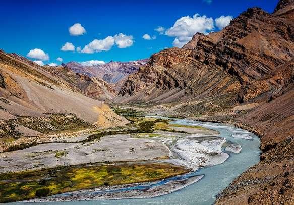 Beas river in Himachal
