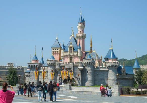 Enjoy a fun-filled day in Disneyland, Hong Kong