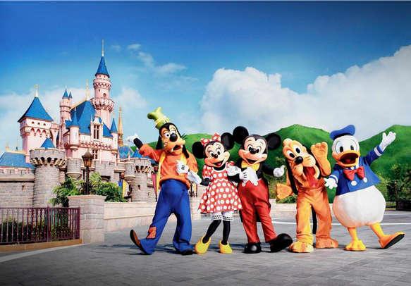 Disney characters in Disneyland, Hong Kong