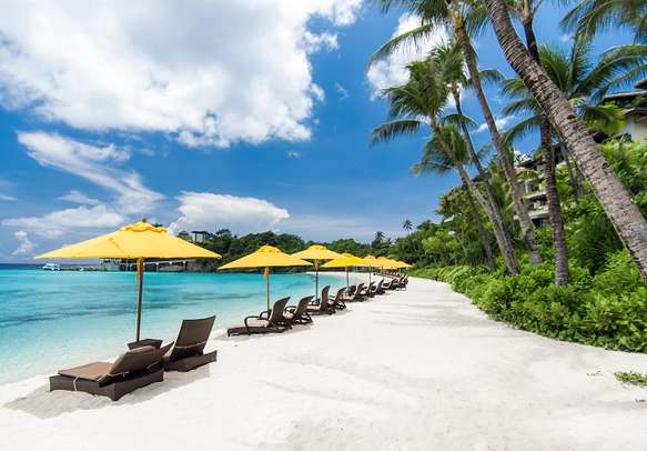 Explore the charm of Bali on the white sand beaches