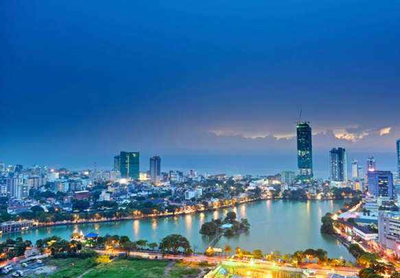 Admire spectacular views of the skyline while holidaying in Sri lanka