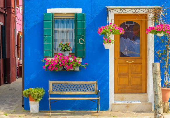 Enjoy the vibrancy of Burano island on this trip to Europe