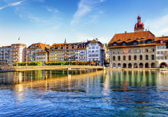 The crystal clear lake awaits you on this Europe tour package