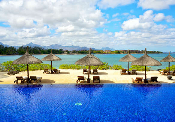 Amazing view of Mauritius