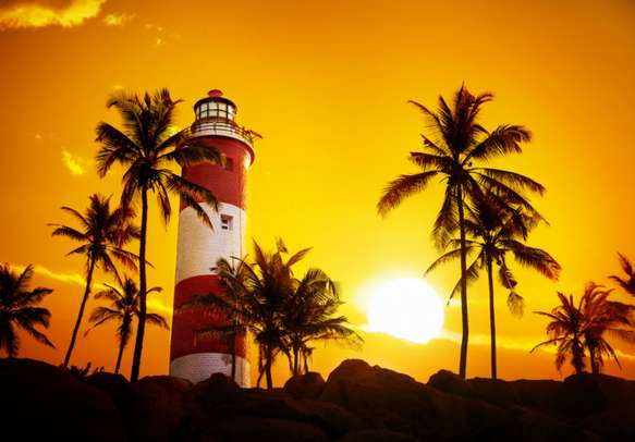 Make the most of your Kerala trip by enjoying the beautiful sunset
