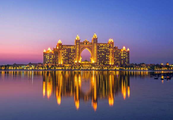 Enjoy an utterly royal stay at the Atlantis Hotel in Dubai