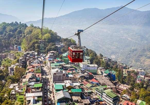 Let the splendid views of Gangtok enchant you