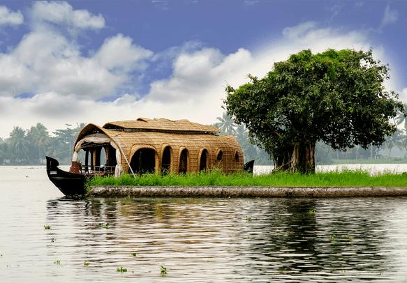 The beautiful views of Kerala will keep you in good spirits