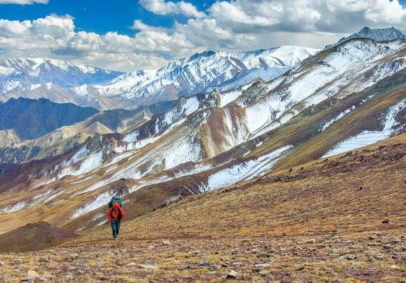 Hiking in Himalaya mountains, Ladakh