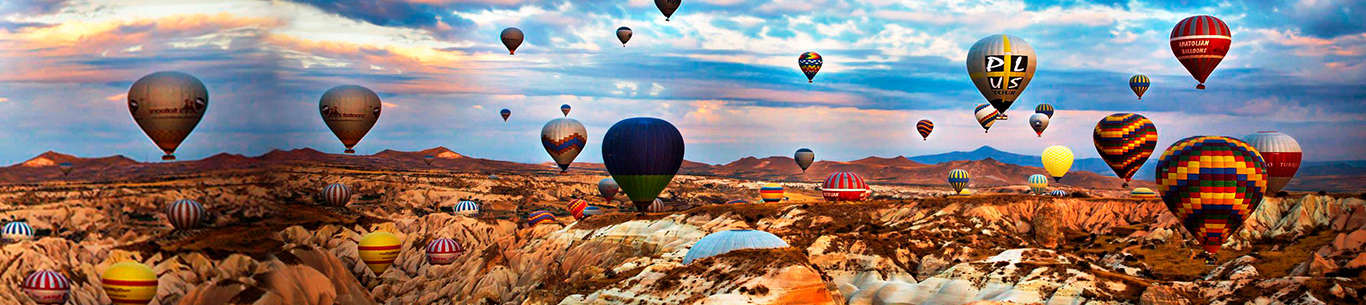 Have some fun-filled family moments on hot air balloons in Turkey