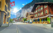 Interlaken is among the most popular places to visit in Switzerland