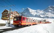 This day of your Switzerland honeymoon package is dedicated to Mount Jungfrau