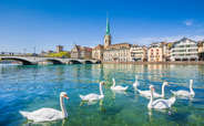 Delight in the natural beauty of the scenery at Zurich