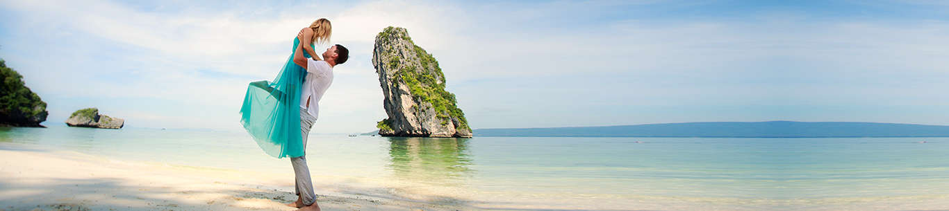 Get set for some fun moments on the beaches in Thailand on your honeymoon