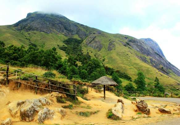 The beautiful Anamudi hills in God's own country