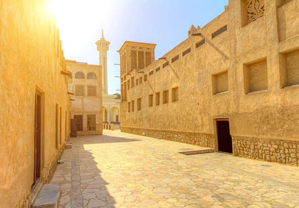 Wander through the enchanting realms of the Jumeirah Mosque