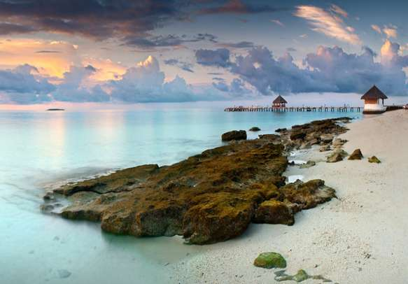 Enjoy a remarkable honeymoon at this paradise of lovers
