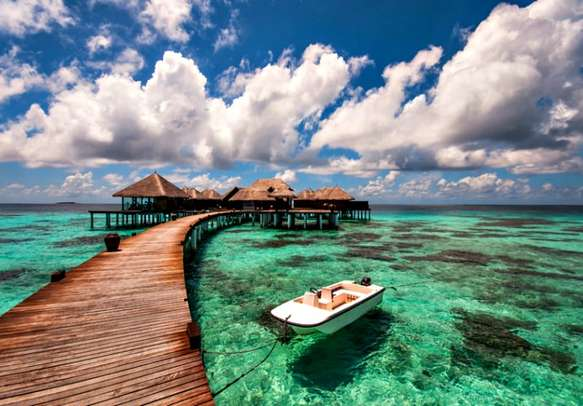Hop from one alluring island to another when in Maldives