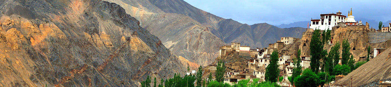 The picturesque valleys of Ladakh are great for a fun-filled family vacation